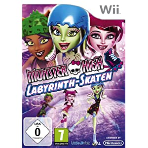 Monster High – Labyrinth – Skaten [Software Pyramide] – [Nintendo Wii]