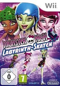 Monster High - Labyrinth - Skaten [Software Pyramide] - [Nintendo Wii]