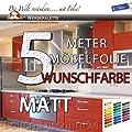Küchenfolie Möbelfolie WEISS Hochglanz 3101 PREIS TIP ! (5 Meter x 61 Zentimeter) von Folien-Discount24 auf TapetenShop
