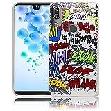 Wiko View 2 Pro Comic Haha Comico Haha Custodia protettiva in silicone Custodia protettiva...