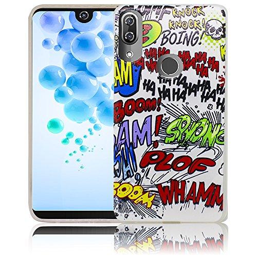 Wiko View 2 Pro Comic Haha Handy-Hülle Silikon - staubdicht, stoßfest & leicht - Smartphone-Case thematys