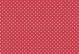 Westfalenstoffe * Nicki * Tupfen rot * 50 x 160 cm