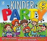 Kinderparty (56 Kinderlieder auf 4 CDs inkl. Vogelhochzeit, Alle meine Entchen, Das Lied der Schlümpfe...)