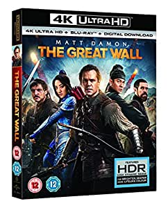 The Great Wall (+ digital download) 4K UHD[2017] [Blu-ray]