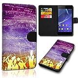 Book Style LG Leon Tasche Flip Brieftasche Handy Hülle Kartenfächer für LG Leon - Design Flip SVH144