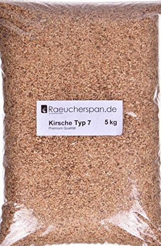 Räucherspäne Räuchermehl Kirsche Kirschholz Typ 7, universell verwendbar, 5kg
