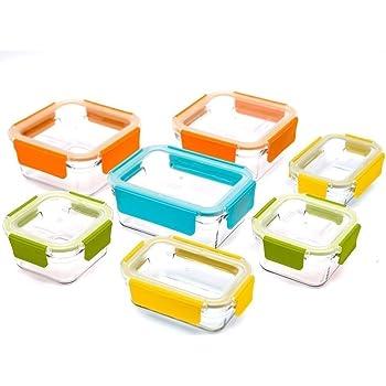 Glasslock Premium 18 Piece Set Non Toxic Dishwasher