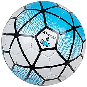 Avatoz Pitch Replica Football - Size: 5, Diameter: 26 Cm (Pack Of 1, Multicolor)