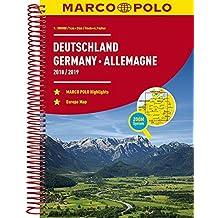 MARCO POLO Reiseatlas Deutschland 2018/2019 1:300 000, Europa 1:4 500 000 (MARCO POLO Reiseatlanten)