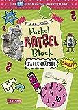 Pocket-Rätsel-Block: Zahlen-Rätsel: 100% Rätselspaß für deine Tasche