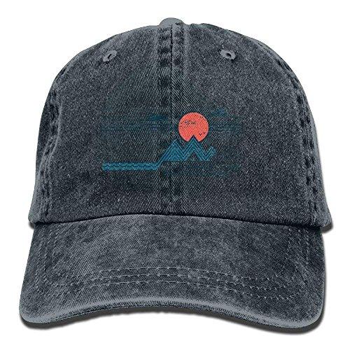 Preisvergleich Produktbild liuyang727000 Lassen Sie Uns dahin wandern,  wo das WLAN schwächer ist Denim-Hut-Baseballmütze Natürlich