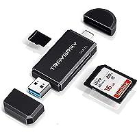 TRAYBRAY USB 3.0 kartenlesegerät, SD/Micro SD kartenleser, 2-in-1 USB Typ C, SD/TF Speicherkartenleser, mit Micro OTG…