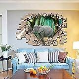 ZYHY3d - kreative Wort Aufkleber, die fahrbare Wohnzimmer wandsticker - 60 * 90cm