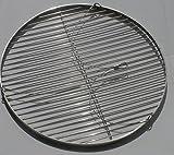 55 cm Grillrost Grill Edelstahl V2A 1.4301 f. Schwenkgrill Stababstand ca 15 / 16mm