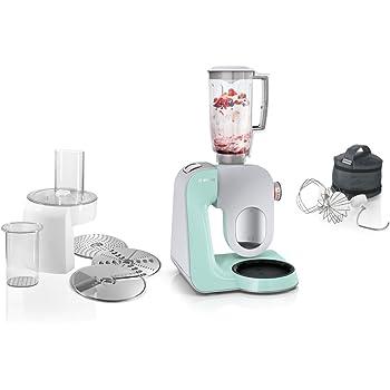 Amazon.de: Bosch MUM54520 Küchenmaschine Styline MUM5 (900 Watt, 3.9 ...