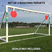 The Soccer Store Football Goal Shooting Target (Set of 2)