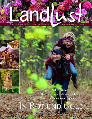 Landlust- Die aktuelle Zeitschrift September Oktober 2013