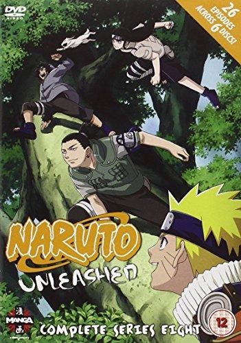 Naruto Unleashed - Complete Series 8 [DVD] [Edizione: Regno Unito]