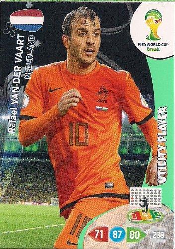 FIFA World Cup 2014 Brasil Adrenalyn XL (, Rafael Van Der Vaart Utility-Player (Rafael Van)