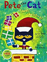 Pete the Cat Saves Christmas by Eric Litwin (2014-08-01)