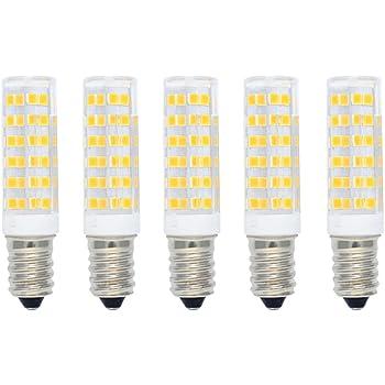 Bombilla Maíz LED 7W E14 Equivalente a Bombilla Halógena 60W 550LM Blanco Cálido(3000K),Bombillas LED de Ahorro de Energía,Bombillas SES LED,Angulo de Haz ...