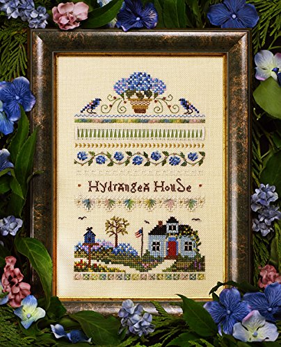 Hortensie House Sampler Diagramm