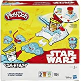 Play-Doh Star Wars Can-Heads Luke Skywalker And Snowtrooper Play Set + 2X Tubs by Hasbro