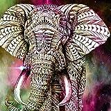 SWIDUUK-painting 2108DIY 5D Diamant Gemälde Elefant Stickerei Kreuzstich Kristall Strass Diamant Stickerei Bilder Arts Craft für Home Wand-Decor, bunt, colorful