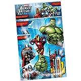 Avengers - Set 2 cuadernos para colores con lápices, 27 x 21 cm (Kids AVPPK)