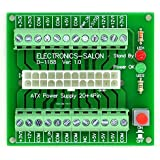 ELECTRONICS-SALON 24/20pines ATX DC fuente de alimentación Placa de memoria.