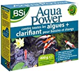 BSI 16990 Aqua Power 400 Gr anti-algue/clarifiant pour bassins/étangs