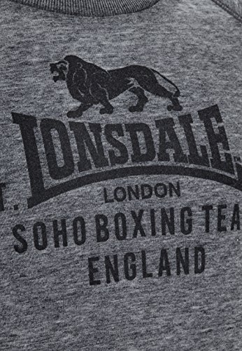 Lonsdale -  Felpa  - Uomo Grigio