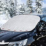 Rorchio Ultra Thick Car Windshield Cover, Frost Cover Snow Ice Protector Magnetic Windscreen