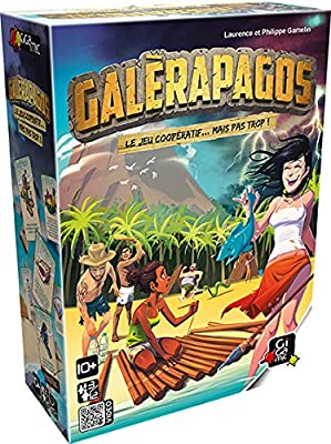 Gigamic GFGA Jeux d'Ambiance - Galerapagos