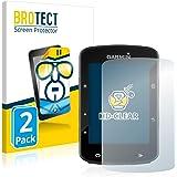 BROTECT 2x Schermbeschermer compatibel met Garmin Edge 520 Plus Screen protector transparant