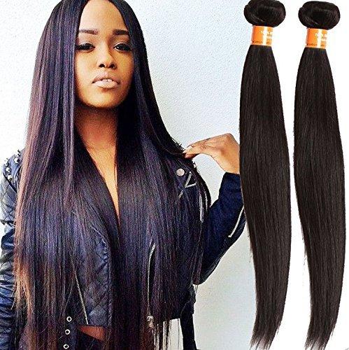 1 lot de 6 a droite cheveux vierges péruviens non traités Péruviens vierges Défrise, rosa Bon Marché cheveux Extension de cheveux humains 50 g/PS 1 Lot de 50 g (55,9 cm)