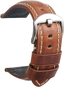 Montre Bracelet Cuir Hommes Panerai Remplacement Accessoires