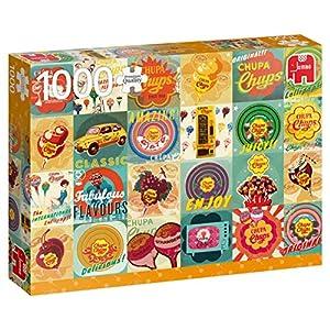 Premium Collection Chupa Chups Vintage 1000 pcs Puzzle - Rompecabezas (Puzzle Rompecabezas, Arte, Niños y Adultos, Niño/niña, 12 año(s), Interior)