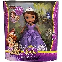 Princesa Sofía - Muñeca y animalitos parlanchines (Mattel DFG60)