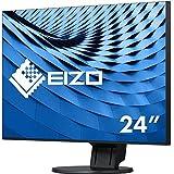 Eizo EV2451-BK 60,5 cm (23,8 Zoll Full HD) Ultra-Slim Monitor (DVI-D, HDMI, D-Sub, USB 3.0, DisplayPort, 5ms Reaktionszeit, Auflösung 1920 x 1080) schwarz