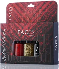 Faces Nail Lacquer Kit, Cocktail Collection, 18ml