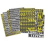 Lagerkennzeichnung, Lagerbeschriftung magnetisch, Magnetzahlen, 43mm hoch - inkl. Sonderzeichen, Farbe:weiß