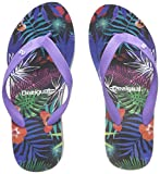 Desigual Women's Shoes_lola Tropical Flip Flops
