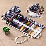 Stifterolle Wrap Leinwand Set Wrap Mäppchen Roll-up 72 Farben Aufrollbare
