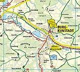 Oberes Maintal /Coburg - Kronach - Kulmbach: Radkarte mit Ausflugszielen, Einkehr- & Freizeittipps, wetterfest, reissfest, abwischbar, GPS-genau - 1:75000 (Radkarte / RK) -