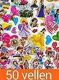 Best Princesse Disney Jouets d'enfants pour les filles - KingMungo KMST007 Lot DE 50 Autocollants 3D pour Review