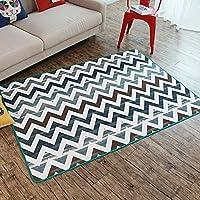 HDWN Il tappeto turco contratta salotto divano letto tappeto ondulato stuoia stuoia , green waves , 120*170cm