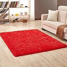 Amazon.it: tappeti da salotto rosso - Spedizione gratuita via Amazon
