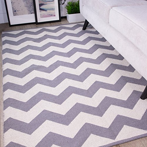 pulse-grey-chevron-zig-zag-simple-geometric-pattern-contemporary-cotton-viscose-living-room-area-rug