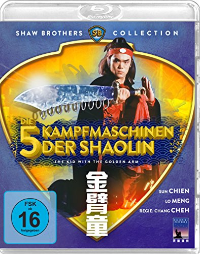 Die 5 Kampfmaschinen der Shaolin - The Kid With The Golden Arm (Shaw Brothers Collection) [Blu-ray] (Fünf Arm)